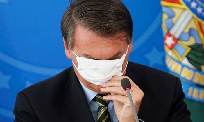bolsonaro máscara